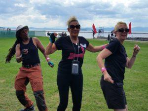 Wellness Warriors 2016 Burlington - always energy left for dancing!