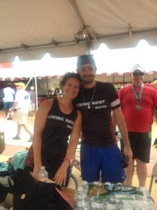 Wellness Warriors 2016 coaches Chrissy Souder and Matt Scotti