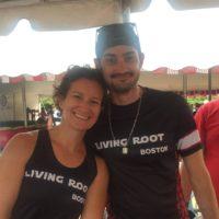 Wellness Warriors 2016 coaches Chrissy Souder and Matt Scotti